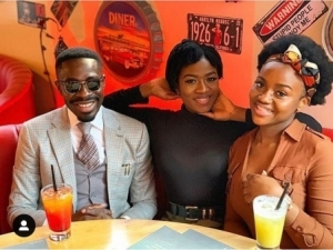 Chioma Hangs Out With Her Sister And Davido